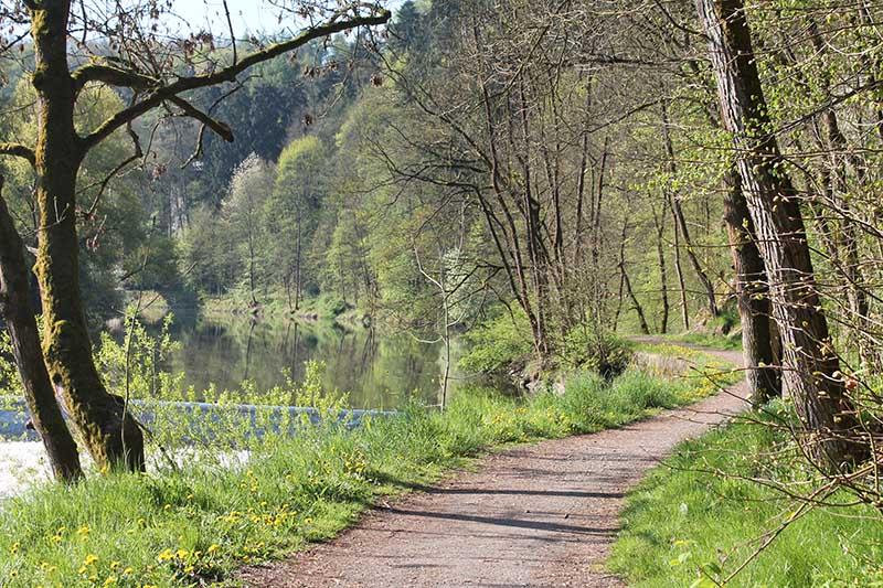 Cesta kolem řeky Lužnice